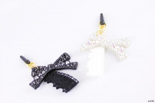 スワロフスキーデコレーション Plug-accessories-Lace-flower-Ribbon-main-01