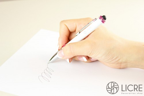スワロフスキーデコレーション ボールペン